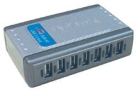 Концентратор USB D-Link DUB-H7/B/D2A, 7-port USB 2.0 Hub.7 downstream USB type A (female) ports, 1 upstream USB type B, support Mac OS X 10.3 or above, Windows XP/Vista/7/8/10, Linux, support USB 1.1/2.0, fast charge
