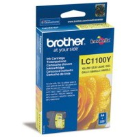 Картридж Brother LC1100Y yellow для DCP-385C/ MFC-990CW/ DCP-6690CW (325 стр)