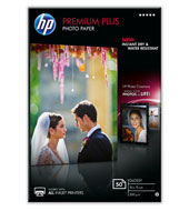 Бумага HP CR695A 10x15, Premium Plus Semi-gloss, 50л
