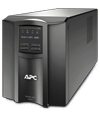 ИБП APC Smart-UPS 1000VA/670W, Line-Interactive, LCD, Out: 220-240V 8xC13 (4-Switched), SmartSlot, USB, COM, HS User Replaceable Bat, Black, 3(2) y.war.