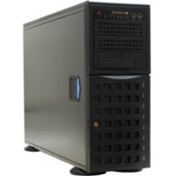 Корпус SuperMicro CSE-745TQ-R800B, 4U/Tower, 13.68''x13'', 3x5.25'', 8x3.5'' hot swap SAS/SATA with SES2, 7xFH, 437x178x648mm, front 2xUSB, 1xfloppy bay, redundant 800W