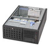 Корпус SuperMicro CSE-745TQ-800B, 4U/Tower, 13.68''x13'', 3x5.25'', 8x3.5'' hot swap SAS/SATA with SES2, 7xFH, 437x178x648mm, front 2xUSB, 1xfloppy bay, 800W