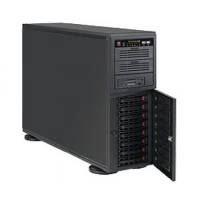 Корпус SuperMicro CSE-743TQ-865B, 4U/Tower, E-ATX, 2x5.25'', 1x3.5'', 8x3.5'' hot swap SAS/SATA with SES2, 7xFH, 452x178x648mm, 865W