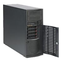 Корпус Supermicro CSE-733TQ-500B Mid-Tower, E-ATX, 2x5.25'', 4x3.5'' hot-swap SAS/SATA with SES2, 7xFH, 427x178x531mm, front 2xUSB, 1x3.5'', 500W