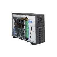 Корпус SuperMicro CSE-745TQ-R920B, 4U/Tower, 13.68''x13'', 3x5.25'', 8x3.5'' hot-swap SAS/SATA with SES2, 7xFH&FL, 437x178x648mm, front 2xUSB, 1xfloppy bay, redundant 920W Platinum