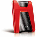 Жесткий диск A-Data USB3.0 1TB DashDrive HD650 Red