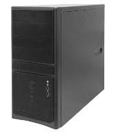 Корпус Midi Tower InWin EC021Black 450W USB+Audio ATX