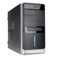 Корпус Midi Tower InWin EC027Black 450W USB+Audio ATX