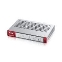 Межсетевой экран ZyXEL USG 40 (USG40-RU0102F) Firewall Appliance 10/100/1000, 3x LAN/DMZ, 1x WAN, 1x OPT, UTM Bundle (AS,AV,CF,IDP) 1 YR