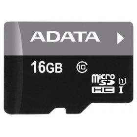Карта памяти microSDHC 16Gb Class10 A-Data AUSDH16GUICL10-R Ultra speed