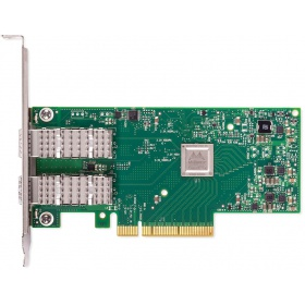 Модуль Mellanox ConnectX-4 Lx EN network interface card, 10GbE dual-port SFP+, PCIe3.0 x8, tall bracket, ROHS R6, SR-IOV, TCP/UDP, MPLS, VxLAN, NVGRE, GENEVE, iSER, NFS RDMA, SMB Direct, ROHS R6