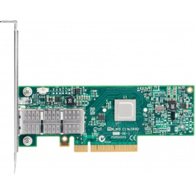 Модуль Mellanox ConnectX-4 Lx EN network interface card, 10GbE single-port SFP+, PCIe3.0 x8, tall bracket, SR-IOV, TCP/UDP, MPLS, VxLAN, NVGRE, GENEVE, iSER, NFS RDMA, SMB Direct, ROHS R6