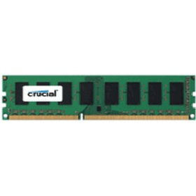 Модуль памяти Crucial by Micron DDR-III 8GB (PC3-12800) 1600MHz CL11 (Retail) (CT102464BD160B - MT16KTF1G64AZ)