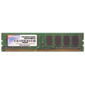 Модуль памяти DDR3 4Gb (pc-10600) 1333MHz Patriot PSD34G13332