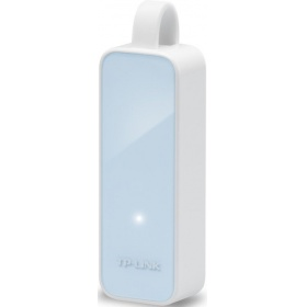 Сетевой адаптер TP-Link UE200, USB 2.0 to Fast Ethernet Network Adapter, 1 USB 2.0 connector, 1 10/100Mbps Ethernet port