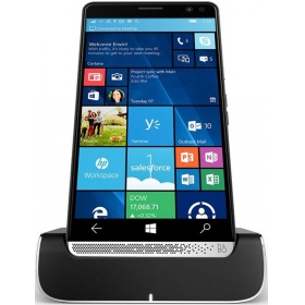 "Смартфон HP Elite x3 + Desk Dock Qualcomm Snapdragon 820/4Gb RAM/64Gb ROM/ 5.96"" WQHD (2560 x 1440) /GSM/ EDGE,WCDMA, LTE/ Wi-Fi (a/b/g/n/ac),Bluetooth 4.0 ,Type-C/,GPS/ Глонасс (A-GPS)/Li-Ion 4100 мАч.Wi"