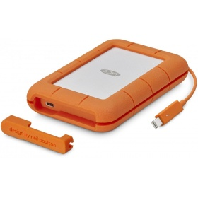 Жесткий диск LaCie STFS500400 500Gb Rugged Thunderbolt  USB C SSD w integrated cable
