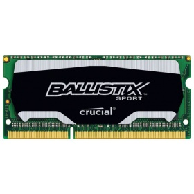 Модуль памяти Crucial by Micron DDR3L 4GB 1600MHz SODIMM (PC3-12800) CL11 1.35 (Retail) Ballistix Sport