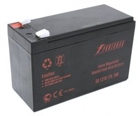 Батарея POWERMAN Battery CA1270, voltage 12V, capacity 7Ah, max. discharge current 105A, max. charge current 2.1A, lead-acid type AGM, type of terminals F2, 151mm x 65mm x 94mm, 2.2 kg.