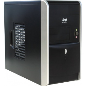 Корпус ПК Mini Tower InWin EMR007 (6120745) RB-S500HQ70 H U3.0*2+A(HD) mATX Black/silver