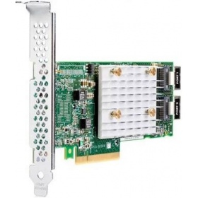 Контроллер HPE Smart Array E208i-p SR Gen10/No Cache/12G/2 int. mini-SAS/PCI-E 3.0x8(HP&LP bracket)/RAID 0,1,5,10 (804394-B21)