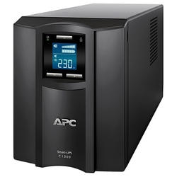 ИБП APC Smart-UPS C (SMC1000I-2URS) 1000VA/600W 2U RackMount, 230V, Line-Interactive, Out: 220-240V 4xC13, LCD, Gray, 1 year warranty, No CD/cables