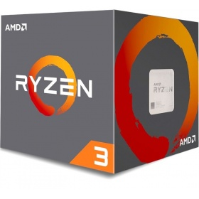 Процессор AMD Ryzen 3 1200 AM4 BOX (YD1200BBAEBOX), Socket AM4, 4-ядерный, 3100 МГц, Turbo: 3400 МГц, Summit Ridge, Кэш L2 - 2 Мб, Кэш L3 - 8 Мб, 14 нм, 65 Вт