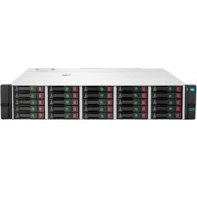 Корпус для дискового массива HP D3710 SFF (Q1J10A) 12Gb SAS Disk Enclosure (2U; up to 25x SAS/SATA drives (Gen8/9/10), 2xI/O module, 2xfans and RPS, 2x0,5m HD Mini-SAS cables) for gen10 server