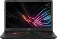 "Ноутбук ASUS ROG GL703GM-E5108T (90NR00G1-M02010) 17.3""(1920x1080 (матовый))/ Intel Core i5 8300H(2.3Ghz)/ 16384Mb/ 1000+256SSDGb/noDVD/ Ext:nVidia GeForce GTX1060(6144Mb)/Cam/ BT/ WiFi/war 2y/ 3kg/ black/ W10"