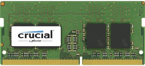 Модуль памяти Crucial by Micron (CT4G4SFS624A) DDR4 4GB 2400MHz SODIMM (PC4-19200) CL17 SRx16 1.2V (Retail)