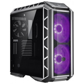 Корпус Cooler Master MasterCase H500P Mesh (MCM-H500P-MGNN-S10), USB3.0x2, USB2.0x2, 2x200RGBFan, 1x140Fan, GunMetal Ver, Full Tower, w/o PSU