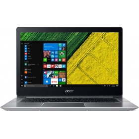 "Ноутбук ACER Swift 3 SF313-52-76NZ (NX.HQXER.003), 13.5"" QHD (2256x1504) IPS i7-1065G7 1.30 Ghz, 16 GB DDR4, 512 GB SSD, Intel Iris Plus Graphics, WiFi, BT, FPR, HD Cam, 56Wh, Win 10 Pro64, 3Y OS, Silver, 1.19kg"