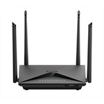 Маршрутизатор D-LINK DIR-853/RU/R1B Wireless AC1300 2x2 MU-MIMO Dual-band Gigabit Router with 1 10/100/1000Base-T WAN port, 4 10/100/1000Base-T LAN ports and USB 3.0 port.