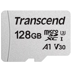 Карта памяти Transcend TS128GUSD300S-A 128GB microSDHC Class 10 UHS-I U1 R95, W45MB/s with adapter