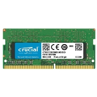Модуль памяти Crucial CT8G4SFS8266 SODIMM 8GB DDR4 2666 MT/s (PC4-21300) CL19 SR x8 Unbuffered 260pin Single Rank