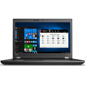 "Ноутбук Lenovo P72 ((20MB0000RT) 17.3"" UHD (3840 x 2160) IPS /Xeon E-2186M /2x 16GB DDR4 ECC 2400MHz /1TB M.2 PCI-e SSD /- /Quadro P5200 16GB /No ODD /Non-WWAN, not upgradable /FPR /IR Camera /backlit /SCR /6 Cell 99Whr /230W slim tip / /3 x USB 3.0 A, 2 x TBT3, HDMI 2.0, miniDP 1.4, SD, Audio, RJ45 / /Windows 10 Pro for Workstation /3 Year Onsite /Black"
