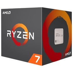 Процессор AMD Ryzen X8 R7-2700 Pinnacle Ridge 3200 MHz AM4, 65W, YD2700BBAFBOX BOX