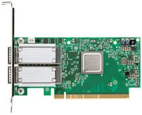 Опция Mellanox MCX516A-GCAT ConnectX®-5 EN network interface card, 50GbE dual-port QSFP28, PCIe3.0 x16, tall bracket, ROHS R6