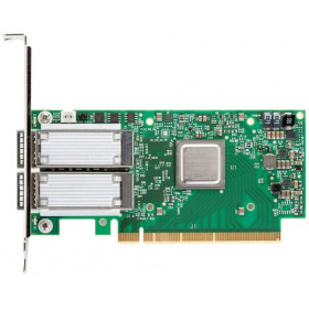 Опция Mellanox MCX516A-CCAT ConnectX®-5 EN network interface card, 100GbE dual-port QSFP28, PCIe3.0 x16, tall bracket, ROHS R6