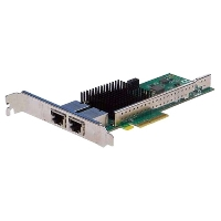 Сетевая карта Silicom PE310G2i50-T Dual Port Copper 10 Gigabit Ethernet PCI Express Server Adapter X4 Gen 3.0, Based on Intel X550-AT2, RoHS compliant