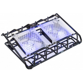 "Подставка STM IP33 Black (17,3"""""""", 2x(120x120),   plastic+metal mesh)"