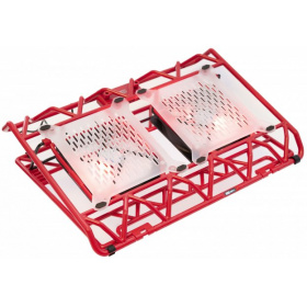 "Подставка STM IP33 Red (17,3"""""""", 2x(120x120),   plastic+metal mesh)"