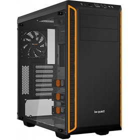 Корпус Be Quiet PURE BASE 600 WINDOW ORANGE (BGW20) / Midi-Tower / ATX / 2x5.25, 3x3.5, 8x2.5 / side window / black+orange / BGW20