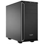 Корпус be quiet! PURE BASE 600 SILVER (BG022)/ Midi-Tower / ATX / 2x5.25, 3x3.5, 8x2.5 / black+silver / BG022