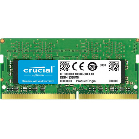 Модуль памяти Crucial CT4G4SFS8266 by Micron DDR4 4GB 2666MHz SODIMM (PC4-21300) CL15 SRx8 1.2V (Retail)