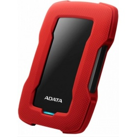 Внешний жесткий диск ADATA AHD330-1TU31-CRD USB3.1 1TB DashDrive HD330 Red