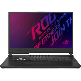 "Ноутбук ASUS ROG G731GW-EV206T HERO III +External Camera+mouse (90NR01Q2-M04080) 17.3""(1920x1080 (матовый, 144Hz) IPS)/ Intel Core i7 9750H(2.6Ghz)/ 16384Mb/ 1024SSDGb/noDVD/ Ext:nVidia GeForce RTX2070(8192Mb)/ BT/ WiFi/war 1y/ 2.85kg/ black/W10"