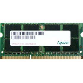 Модуль памяти Apacer AS04GFA60CAQBGC DDR3 4GB 1600MHz SO-DIMM (PC3-12800) (Retail) (AS04GFA60CAQBGC/DS.04G2K.HAM)