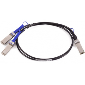 Кабель Mellanox MCP7H00-G02AR passive copper hybrid cable, ETH 100Gb/s to 2x50Gb/s, QSFP28 to 2xQSFP28, colored pulltabs, 2.5m, 30AWG