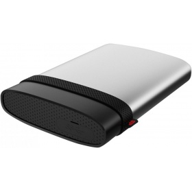 Внешний жесткий диск Portable Hard Disk Silicon Power Armor A85 (SP020TBPHDA85S3S) 2Tb, USB 3.1 , Water/dust proof IP68, Shockproof protection, USB 3.1 , Aluminum, Silver